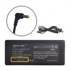 Cargador Belsic P/ Lenovo Bangh 19v 3,42 65w 24142