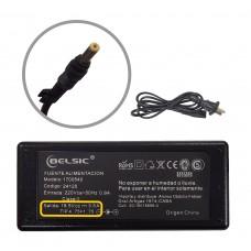 Cargador Belsic P/ Hp Pin Amar 18,5v 3,5 65w 24120