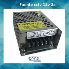 Fuente Metalica 12v 2a Cctv Led