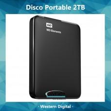 Hd 2 Tb Portable Wd 2,5 Usb 3,0