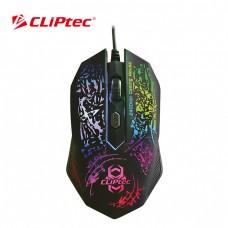 Mouse Cliptec Gamer Storm 2400 Dpi Iluminado
