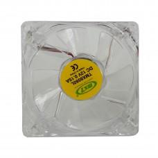 Fan Cooler Para Fuente 8x8 Cm Luz