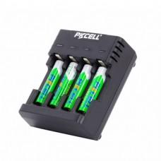 Cargador De Baterias Pilas Recargables Pkcell