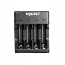 Cargador Baterias Pilas 18650 Doble Usb Pkcell