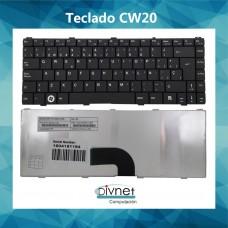Teclado Español P/ Cw20 Pbl10 Ken Brown Pcw20 Mp-07g36e0-698