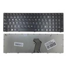 Teclado Para Notebook Lenovo G570 Black